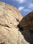 Rock Climbing Photo: Marc on El Perrito in Ridgeline