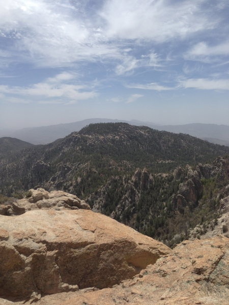 View from the top of Ridgeline