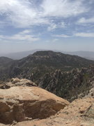 Rock Climbing Photo: View from the top of Ridgeline