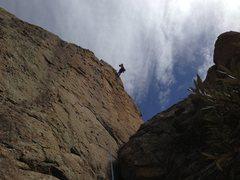 Rock Climbing Photo: El Perrito send for Marc