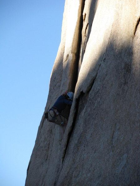 Rock Climbing Photo: Joshua Tree,  I don't remember...