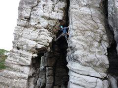 Rock Climbing Photo: Angel of Calcutta