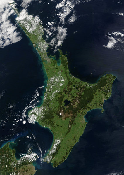 Rock Climbing Photo: North Island, New Zealand