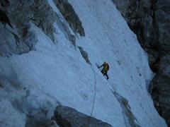 Rock Climbing Photo: On the Valhalla Traverse
