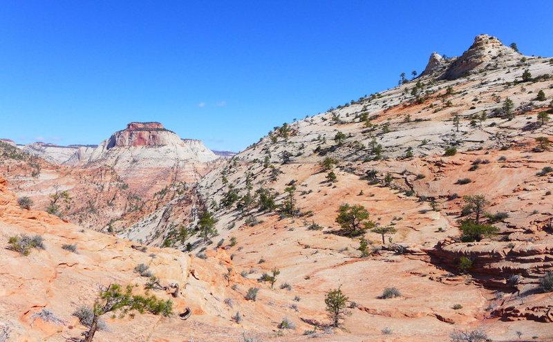 looking back at Jenny Peak
