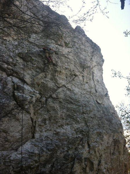Rock Climbing Photo: Lantern Hill