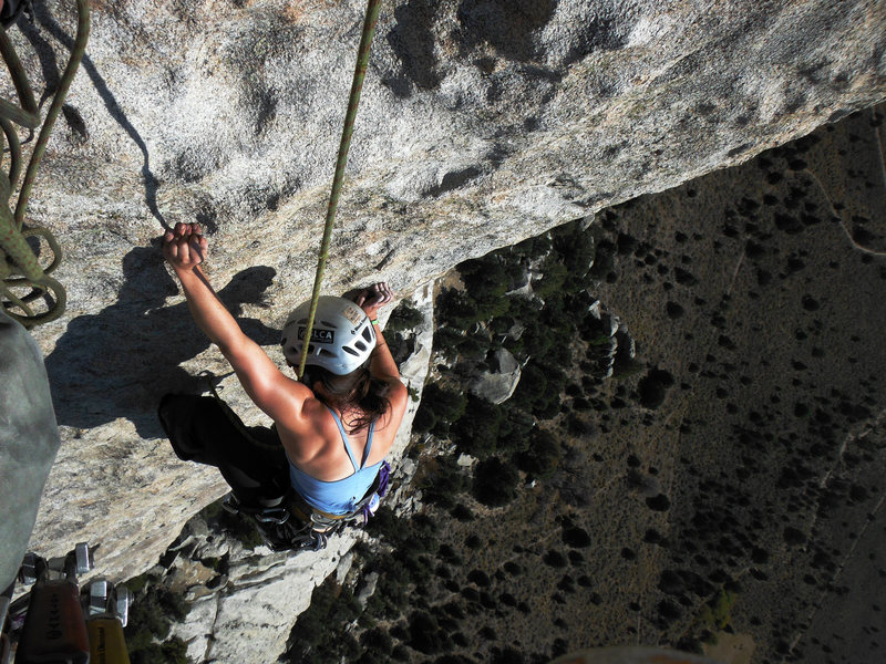 Rock Climbing Photo: The final moves...