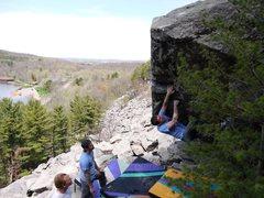 Rock Climbing Photo: Dobbe on SunnyD