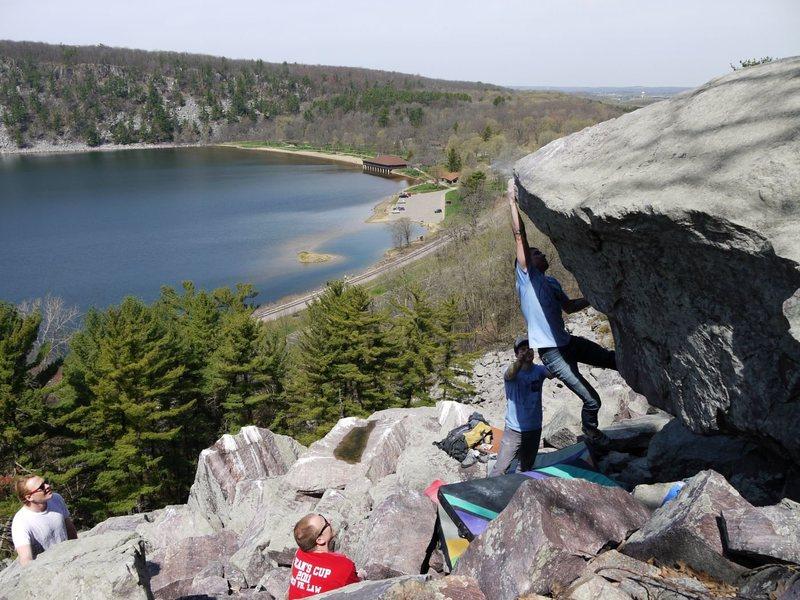 Rock Climbing Photo: Bam