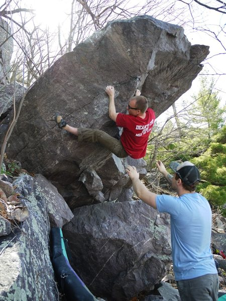 Nate on the crimps