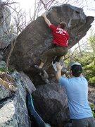 Rock Climbing Photo: Done.  Nate