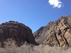 Rock Climbing Photo: Big Cottonwood Canyon