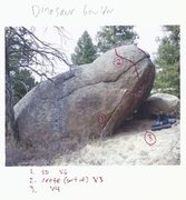Rock Climbing Photo: I guess there are two lines and a variation.