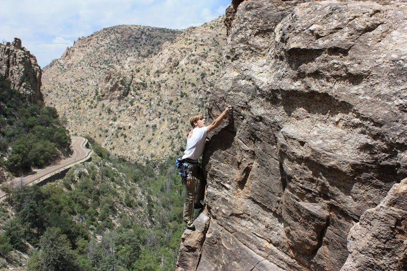 Rock Climbing Photo: Pretty good exposure!