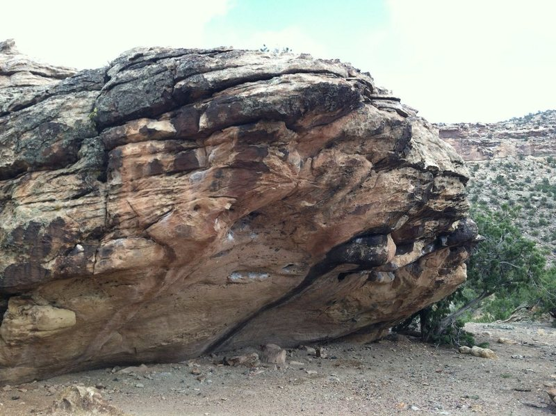 West side of Guano Boulder.