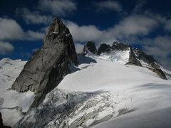 Rock Climbing Photo: pigeon spire....damn!