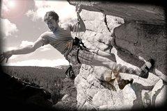 Rock Climbing Photo: TR'ing in Boulder Canyon