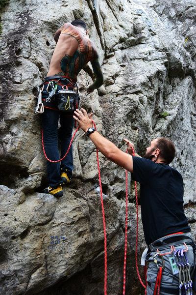 Rock Climbing Photo: Sans foi ni loi