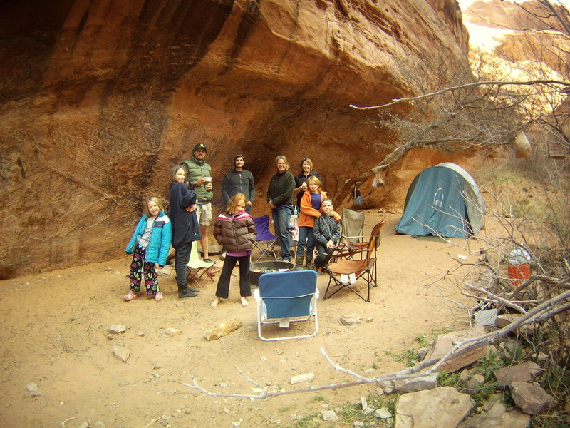 Spring Break Trip to Moab - Moonflower Canyon.  March 2013