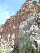 Rock Climbing Photo: You can see line from bottom to top following the ...
