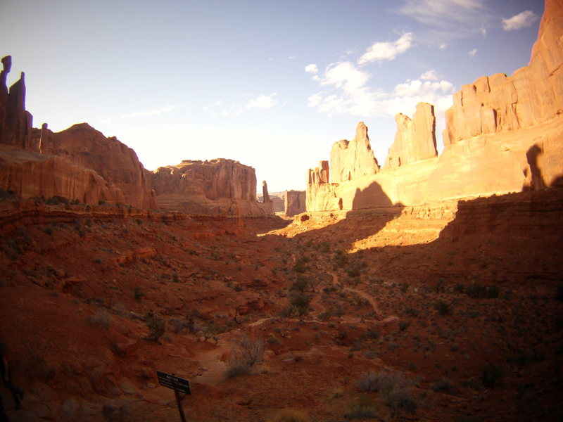 Rock Climbing Photo: Arches National Park. Spring Break Trip to Moab. M...