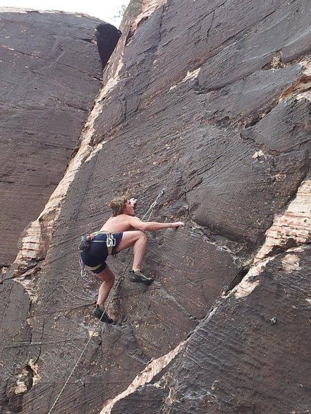 Rock Climbing Photo: Nice rock