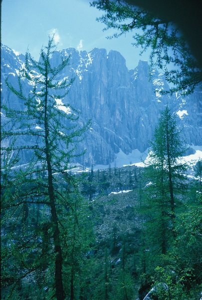 Tre Sorelle (Three Sisters)Sub-Group in the Sorapiss Group near Misurina.
