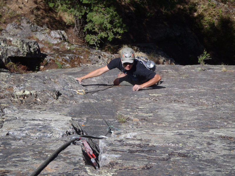 Rock Climbing Photo: Steven Van Sickle on the Bad Bowl.