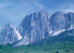 Rock Climbing Photo: Pomagagnon Group just North from Cortina d'Ampezzo...