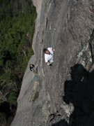 Rock Climbing Photo: John and Jordan - Third pitch of the RGC. sorry ab...