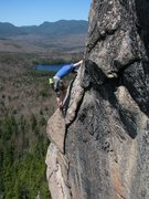 Rock Climbing Photo: Top out, 3rd pitch