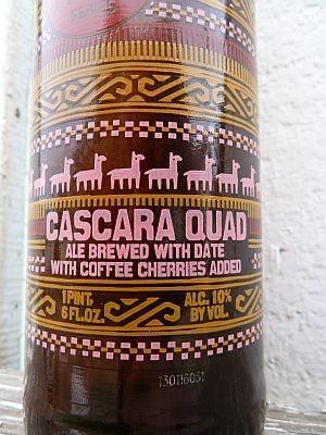 New Belgium Brewing Cascara Quad