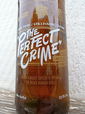 Stone Brewing Co. Collaboration The Perfect Crime