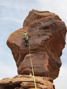 Rock Climbing Photo: the money pitch, just under the first mando free m...