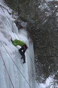 Rock Climbing Photo: Munising, MI Ice fest 2013