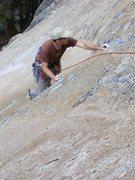 Rock Climbing Photo: Checking the edges