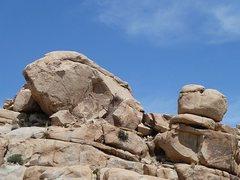 Rock Climbing Photo: The Sun Bowl, Joshua Tree NP