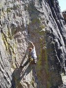 "Rock Climbing Photo: ""Grippin' it and rippin' it"" on Fuigitiv..."