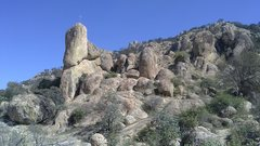 principal climbing zone at el Diente