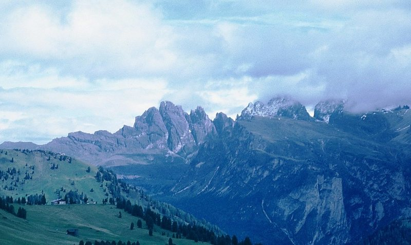 "Rock Climbing Photo: Geisler group, or ""Geislerspitzen."" The ..."
