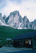 Rock Climbing Photo: Grosse Cirspitze.