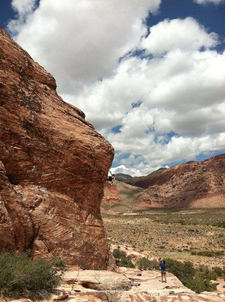Rock Climbing Photo: a free solo of caustic by Matt Lloyd