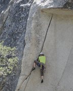 """Rock Climbing Photo: """"...if I can just get my left foot UNDER the ..."""