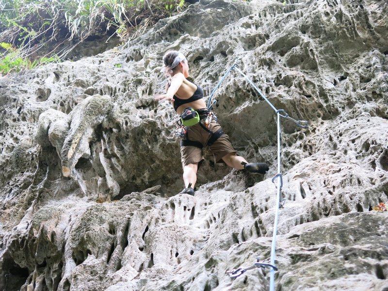 Rock Climbing Photo: Awesome climbing