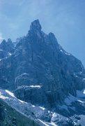 Rock Climbing Photo: Dito di Dio (Finger of God) in Sorapiss Group; nea...