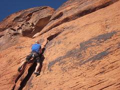 Rock Climbing Photo: Iron Man Wall