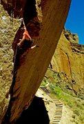 Rock Climbing Photo: The Dyno Variation
