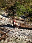 "Rock Climbing Photo: Joshua Corbett on ""The Big Finish"" varia..."
