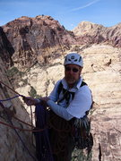 Rock Climbing Photo: Steve in red rocks 3/11
