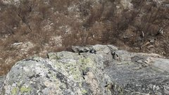 Rock Climbing Photo: Base of the rock outcrop